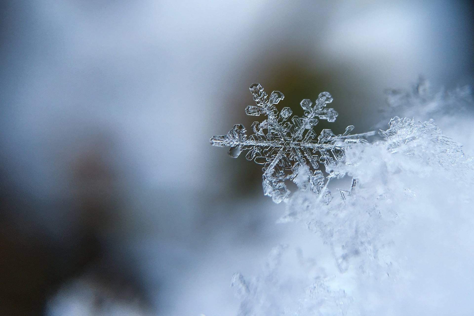 Her bir kar tanesi mucize