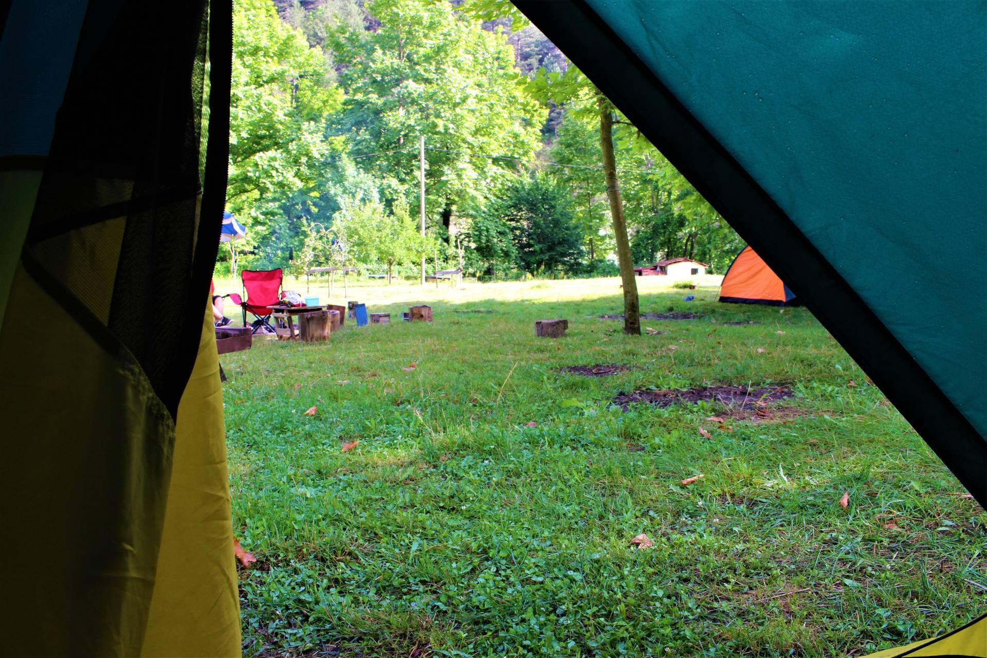 İlk kamp deneyimi