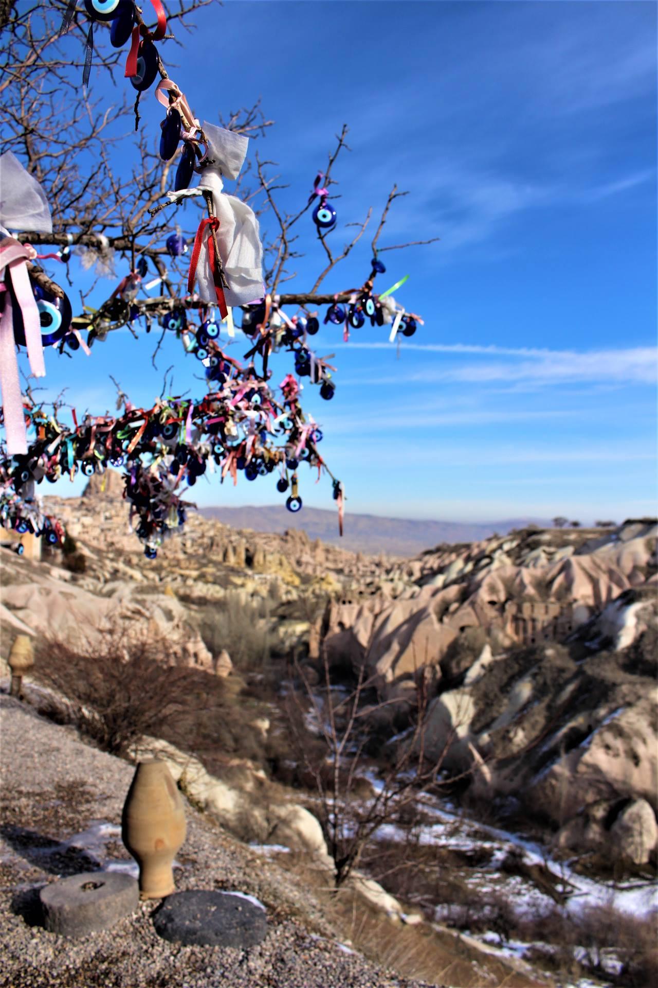 Kapadokya Güvercinlik vadisi